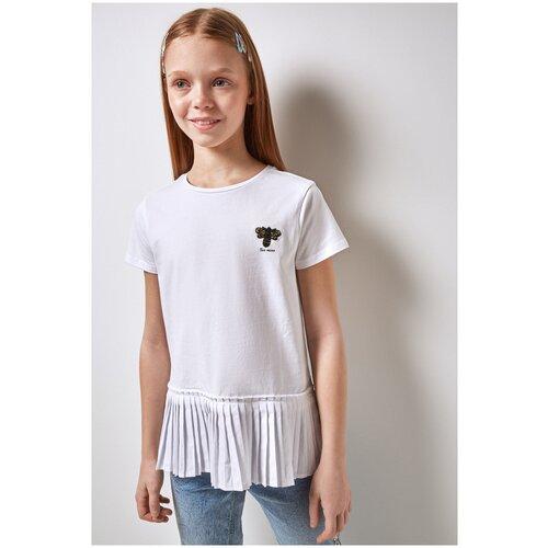 Фото - Футболка для девочек размер 158, белый, ТМ Acoola, арт. 20210110283 футболка acoola размер 158 белый