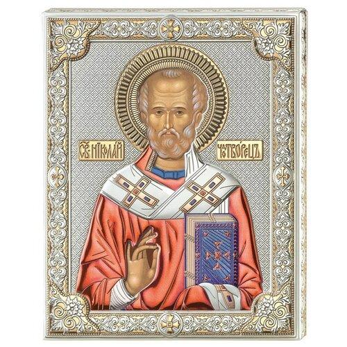 Икона Николай Угодник 85301COL, 12х16 см по цене 7 840