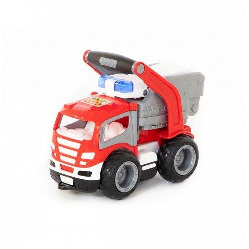 Купить Автомобиль пожарный Полесье ГрипТрак, в сеточке, в ассортименте 872, Машинки и техника