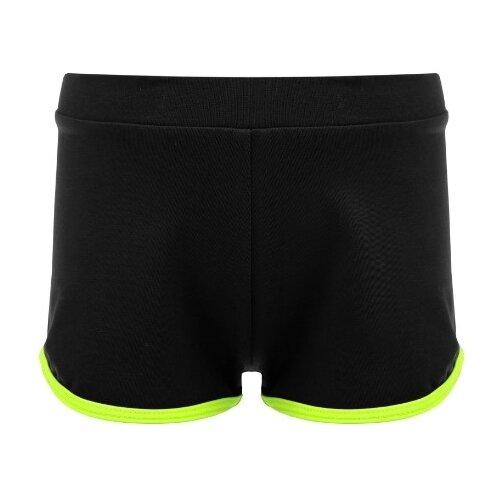 Купить Шорты Grace Dance размер 34, черный/зеленый