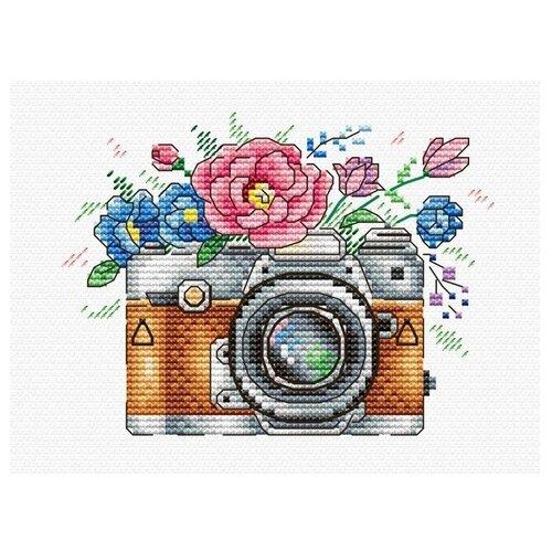 Купить Жар-птица Набор для вышивания на одежде Цветочный кадр 9 х 12 см (В-255), Наборы для вышивания