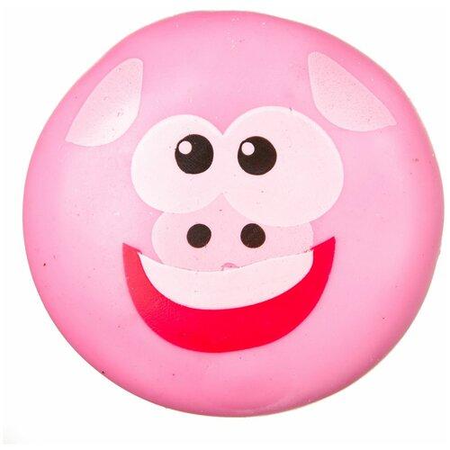 Игрушка-мялка BONDIBON Чудики Поросенок (ВВ3570) розовый