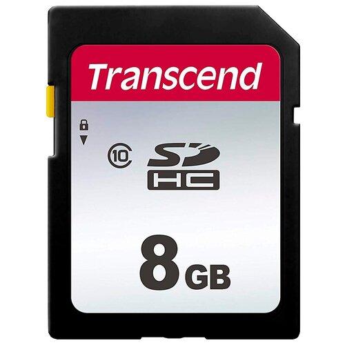 Фото - Карта памяти Transcend TS*SDC300S 8 GB, чтение: 20 MB/s, запись: 10 MB/s карта памяти transcend ts sdc300s 16 gb чтение 95 mb s запись 45 mb s