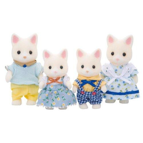 Игровой набор Sylvanian Families Семья шёлковых кошек 3143/4175
