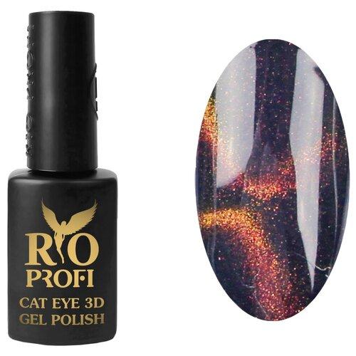 Купить Гель-лак для ногтей Rio Profi Cat Eye 3D, 7 мл, №5 Огненная молния