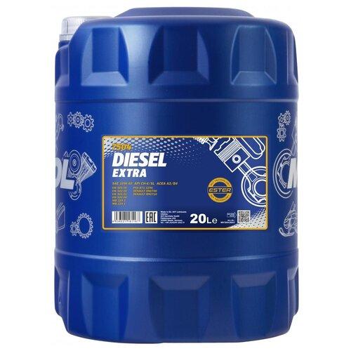 Фото - Полусинтетическое моторное масло Mannol Diesel Extra 10W-40 20 л минеральное моторное масло mannol multifarm stou 10w 40 20 л
