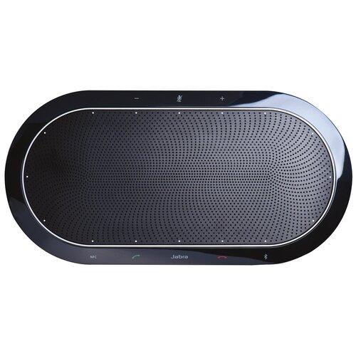 Беспроводной спикерфон Jabra SPEAK 810 - портативная музыкальная колонка и устройство громкой/конференц связи до 15 человек, Bluetooth, USB-A, jack 3,5 mm, NFC, цвет черный