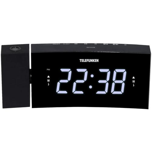 Радиобудильник TELEFUNKEN TF-1568U черный