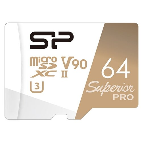 Карта памяти Silicon Power SP064GBSTXKA2V20 64 GB чтение: 290 MB/s запись: 160 MB/s
