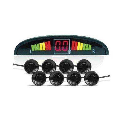 Комбинированные парктроники, монитор AVS PS-128U черный