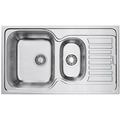 Врезная кухонная мойка 86 см OMOIKIRI Kashiogawa 86-2-IN нержавеющая сталь врезная кухонная мойка 86 см omoikiri sakaime 86 2 белый