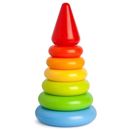 Пирамидка Росигрушка Цветик 9224