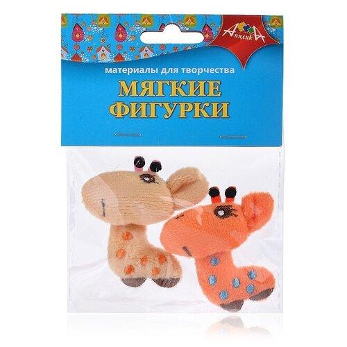 Купить Набор мягких игрушек Апплика Жирафики, 5 см, Мягкие игрушки