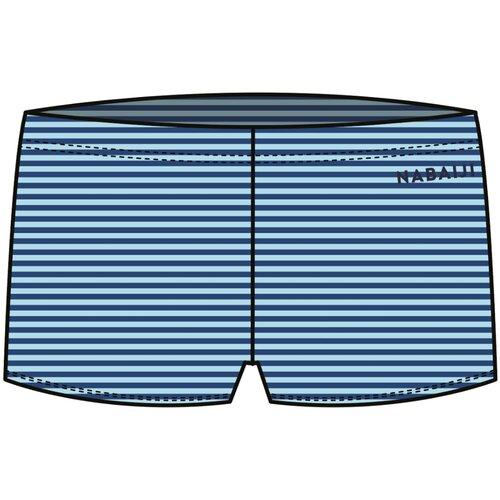 Плавки детские, размер: 96-102CM 3-4A, цвет: Глубокий Синий/Холодный Голубой NABAIJI Х Декатлон