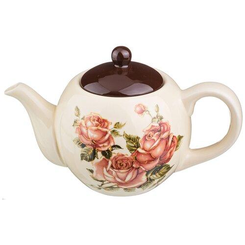 ЧАЙНИК ЗАВАРОЧНЫЙ КОРЕЙСКАЯ РОЗА 900 МЛ. lefard заварочный чайник корейская роза 1 3 л белый розовый золотой