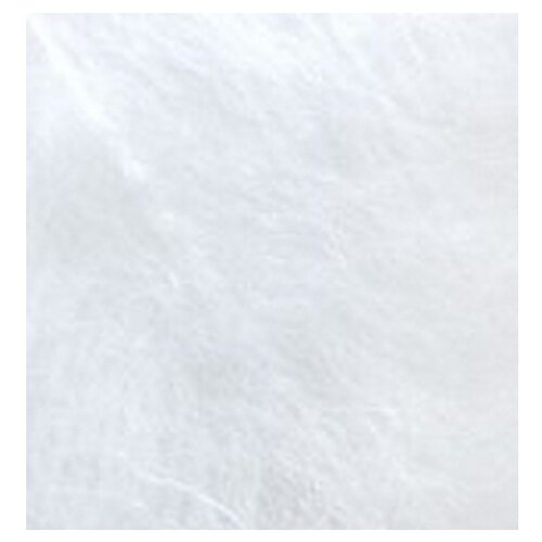 Купить Пряжа для вязания Ализе Mohair classic NEW (25% мохер, 24% шерсть, 51% акрил) 5х100г/200м цв.055 белый, Alize