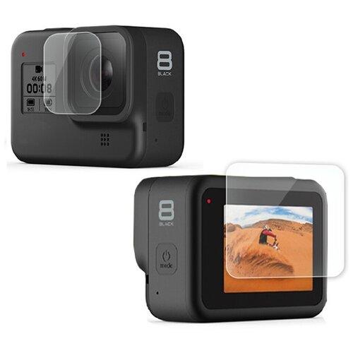 Фото - Защитные стекла для GoPro HERO 8 ложка для мороженного gipfel 21 6 2 8 см