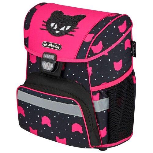 Купить Herlitz Ранец школьный Loop Black Cat 50032549, Рюкзаки, ранцы