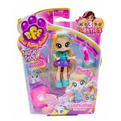 Кукла, Best Furry Friends Bestie с питомцем на блистере, 2 серия, Stephanie