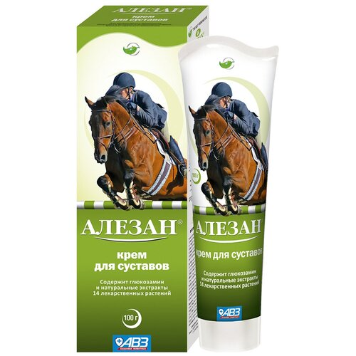 Крем ALEZAN – Алезан для лошадей для суставов АВЗ (100 мл)