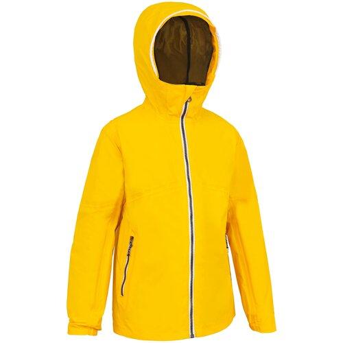 Куртка детская желтая SAILING 100, размер: 151-160 CM 12-13, цвет: Оранжево-Желтый TRIBORD Х Декатлон