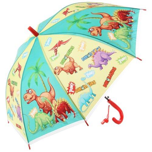 Зонтик детский трость, 66см Amico 118353
