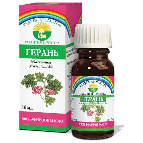 ЛЕКУС эфирное масло Радуга ароматов Герань, 10 мл