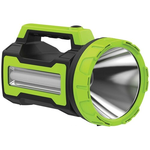 Ручной фонарь КОСМОС Accu9110WUSB черный/зеленый