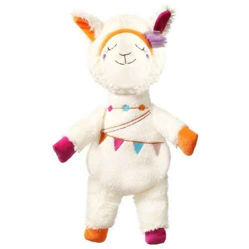 Купить Погремушка BabyOno Lama Rita (716) белый, Погремушки и прорезыватели
