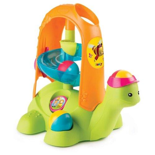 Развивающая игрушка Smoby Черепашка с шариками, зеленый/оранжевый