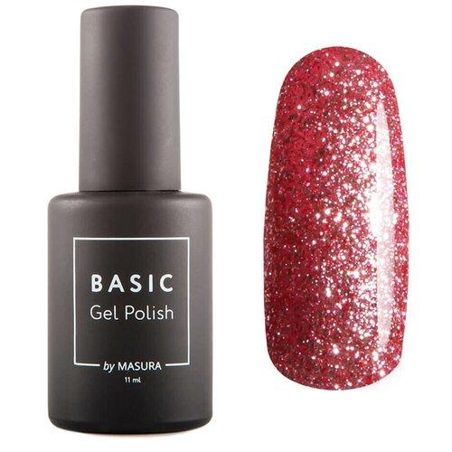 Гель-лак для ногтей Masura Basic, 11 мл, В форме сердца гель лак для ногтей masura basic 11 мл саргассово море