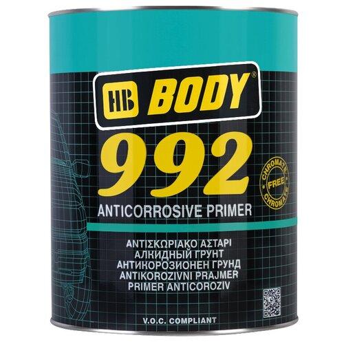 Грунт-праймер HB BODY 992 серый 1 л