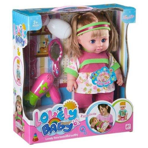 Купить Гратвест Кукла Гратвест озвученная, 30 см с аксессуарами, Куклы и пупсы