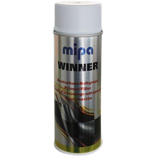 Аэрозольный грунт-праймер MIPA Winner серый матовый 0.4 л