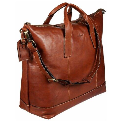 912074 tan Дорожная сумка Gianni Conti