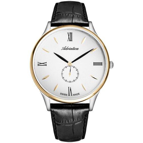 Фото - Часы наручные мужские Adriatica A1230.2263QXL мужские часы adriatica a8279 r154q