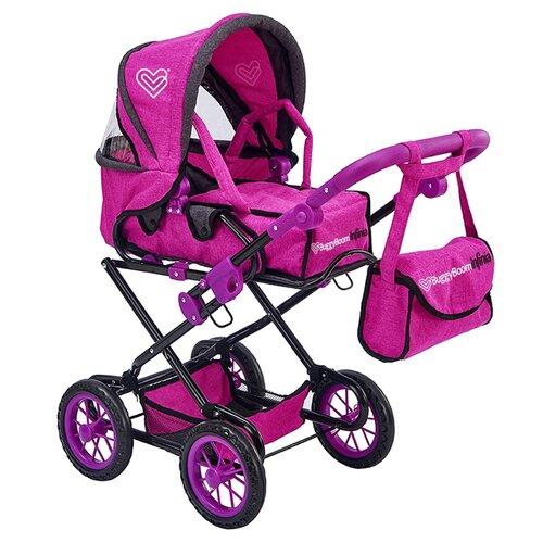 Фото - Коляска-трансформер Buggy Boom Infinia (8459) фиолетовый коляски для кукол buggy boom инфиниа 8459 2 в 1