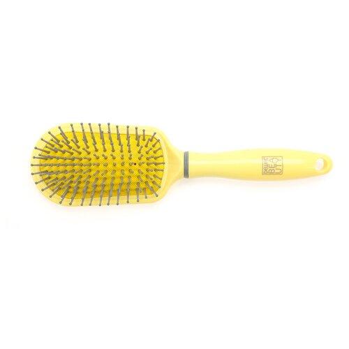 Купить Dewal Beauty Щетка массажная Лимонный пудинг, 23 см
