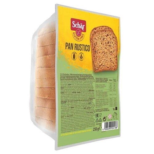 Schar Хлеб Pan Rustico рисовый без глютена в нарезке, 250 г