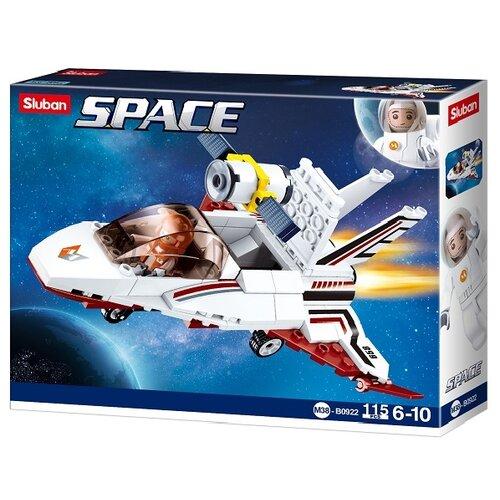 Купить Конструктор SLUBAN Космос M38-B0922 Межпланетный корабль Сатурн, Конструкторы