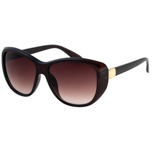 Солнцезащитные очки женские/Очки солнцезащитные женские/Солнечные очки женские/Очки солнечные женские/21kdgaer1202108c2vr коричневый/Vittorio Richi/Бабочки/Стрекозы/модные
