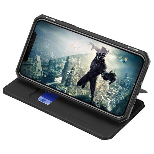 Чехол книжка Dux Ducis для Samsung Galaxy A72 4G / A72 5G, Skin X, черный