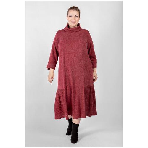 Платье ARTESSA PP71008RED28 бордовый 52-54