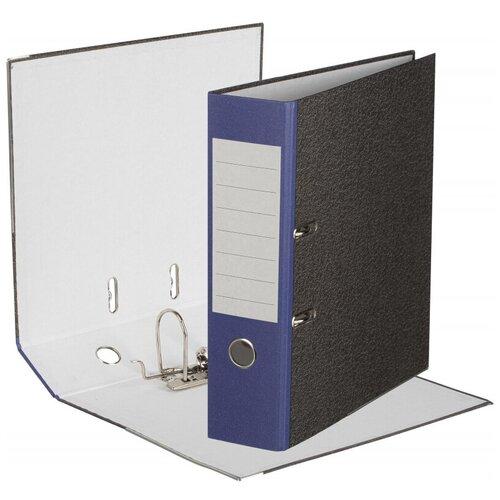 Фото - Папка-регистратор Attache Economy 80 мм мрамор с синим кор., б/уг attache папка регистратор economy под мрамор 50 мм черный синий
