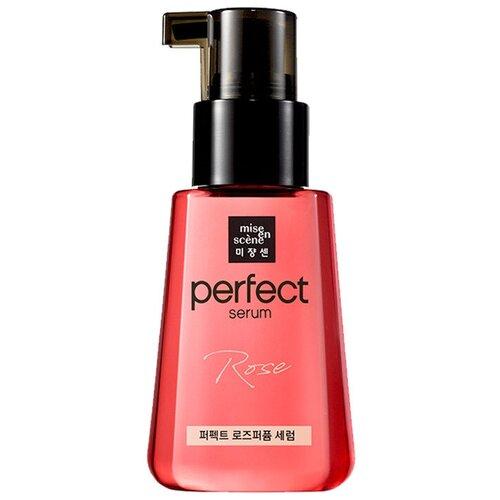 Mise en Scene Perfect Serum Rose Edition Восстанавливающая сыворотка для волос с маслом дамасской розы, 80 мл