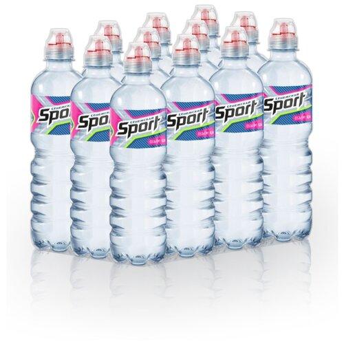 Вода минеральная Сенежская Спорт негазированная, ПЭТ, 12 шт. по 0.5 л вода минеральная сенежская негазированная пэт 1 5 л