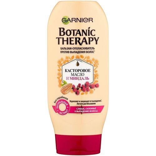 Купить GARNIER бальзам-ополаскиватель Botanic Therapy Касторовое масло и Миндаль против выпадения волос для слабых, склонных к выпадению волос, 387 мл