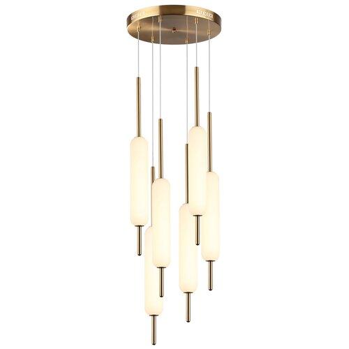 Люстра светодиодная Odeon Light Reeds 4794/72L, LED, 72 Вт