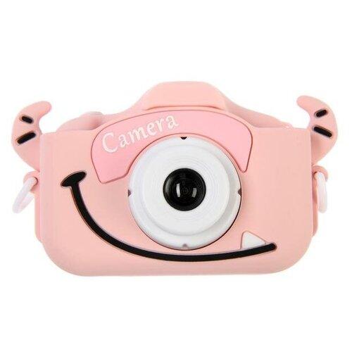 "Фотоаппарат Сима-ленд Cartoon Digital Camera Bull ""Бычок"" розовый"
