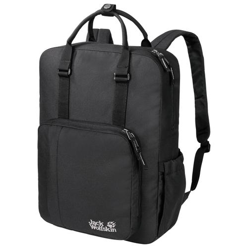 Городской рюкзак Jack Wolfskin Phoenix 16, черный трекинговый рюкзак jack wolfskin halo 24 corona lime